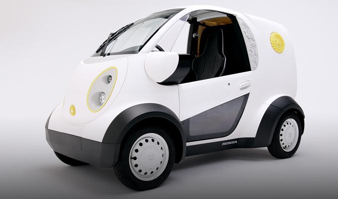 Honda'nın 3 boyutlu yazıcıdan çıkan mikro otomobili