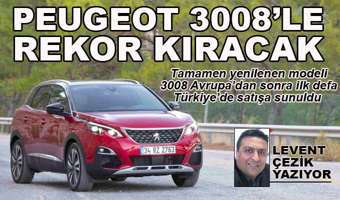Peugeot, 3008'le rekor kıracak