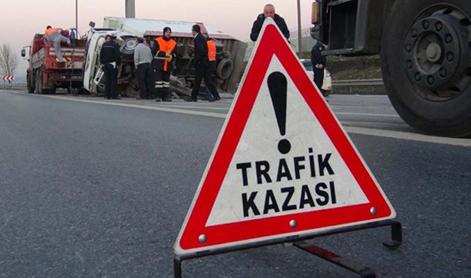 Köprü'de İstanbul trafiğini felç eden kaza