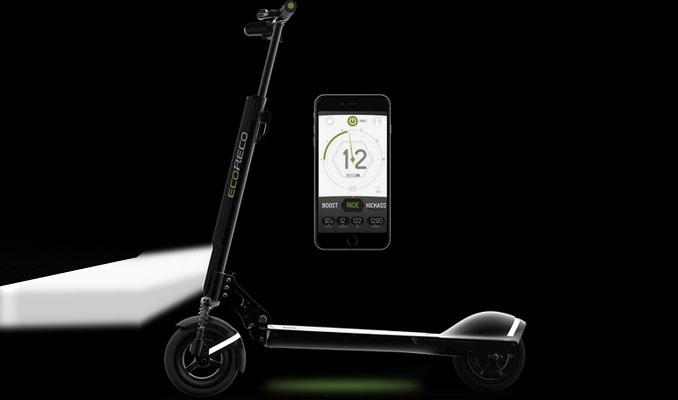 1 dolarlık elektrikle 800 km giden scooter