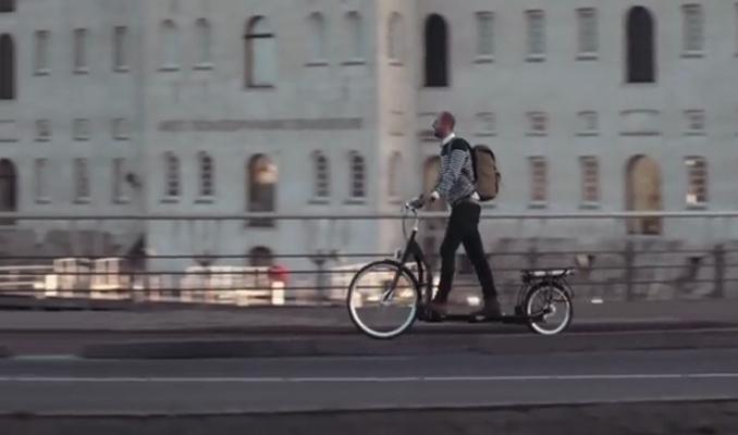 'Yürüyerek' giden bisiklet geliştirildi