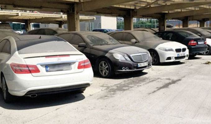 Tutuklu lüks araçlar sahiplerine ÖTV karşılığı verilecek