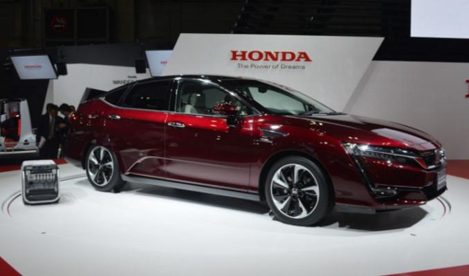Honda'dan ilk hidrojen enerjisi ile çalışan otomobil