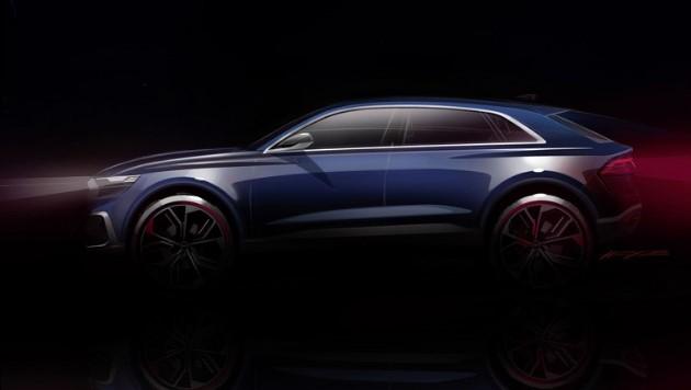 Audi Q8 ilk kez ortaya çıktı