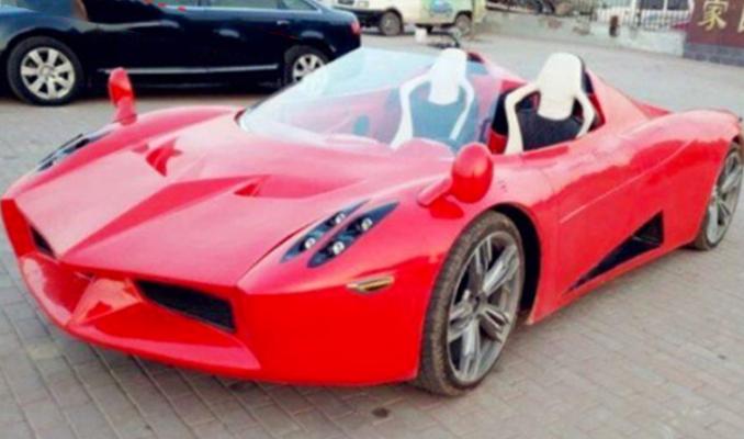 İşte Çinlilerin yeni hiper otomobili!