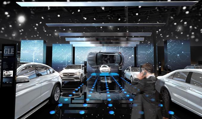 Mercedes, Paris'te geleceğin teknolojisini tanıtıyor