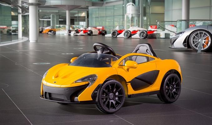 McLaren'dan çocuklara özel elektrikli otomobil