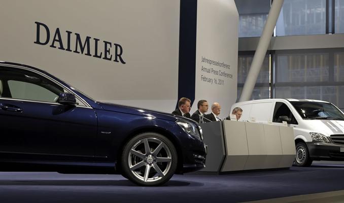 Mercedes'in 50. yılında büyük skandal