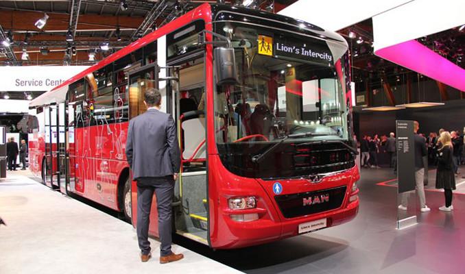 Avrupa'nın en büyük otobüs fuarı açıldı