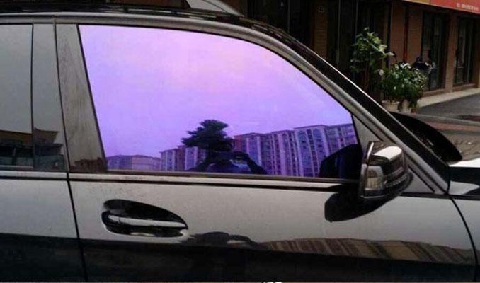 Cam filmi ve renkli camlara yeni düzenleme