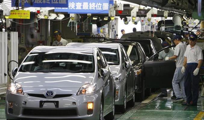 Toyota üretime yeniden başladı