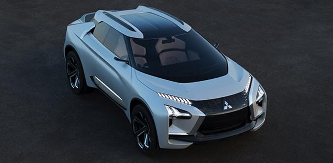 Mitsubishi e-evolution Tokyo Otomobil Fuarı'nda