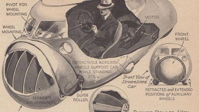 80 yıl önce geleceğin arabasını böyle hayal ediyorduk!