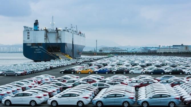 Otomotiv ihracatı Eylül ayında vites yükseltti
