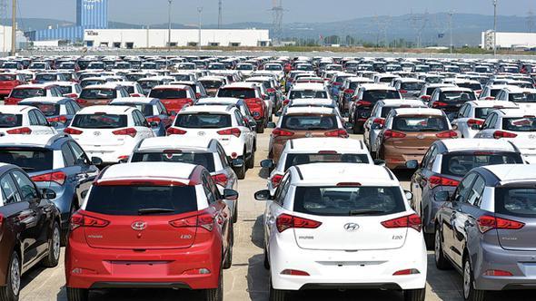 Almanya'ya otomotiv ihracatı siyasi gerginlik dinlemedi