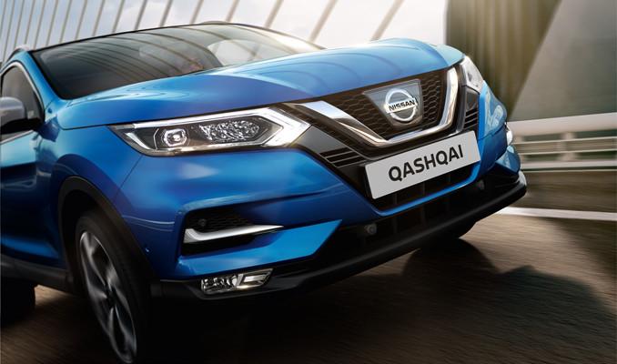 Yenilenen tasarımıyla Nissan Qashqai