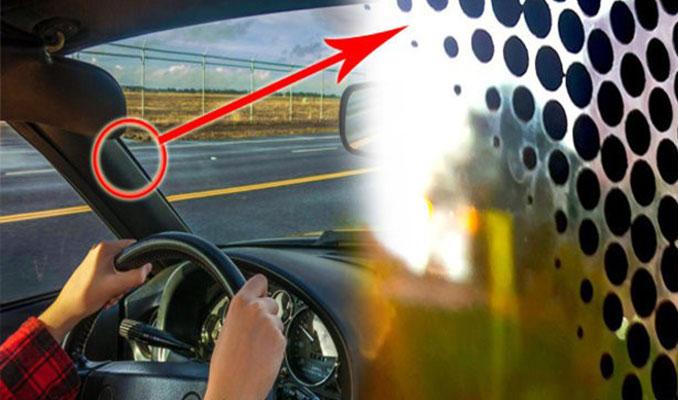 Araçların camlarında bu siyah noktalar neden var?