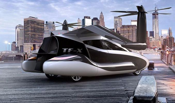 Volvo'dan uçan otomobil hamlesi