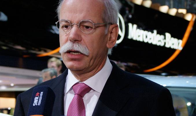 Mercedes Benz CEO'su Zetsche: Çalmadık, önce biz yaptık