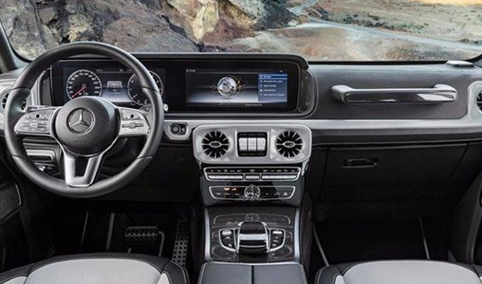 Yenilenen Mercedes G-Serisi'nden ilk detaylar geldi