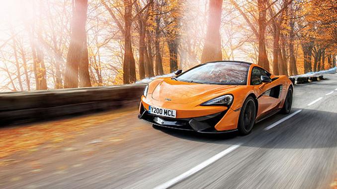 McLaren'e özel lastikler