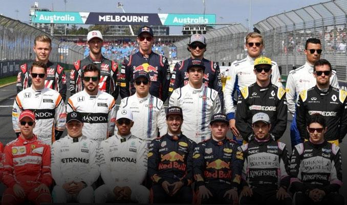 Formula 1 tarihinde bir ilk hepsi sendikalı