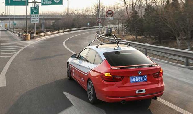 Çin sürücüsüz araçların testine izin verdi
