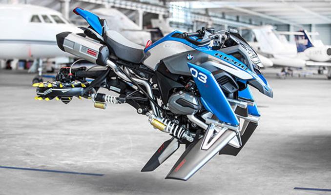 BMW'den uçan motosiklet: Hover Ride