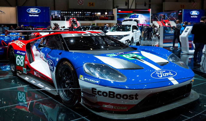 Autoshow'da Ford GT Race Car rüzgarı esecek
