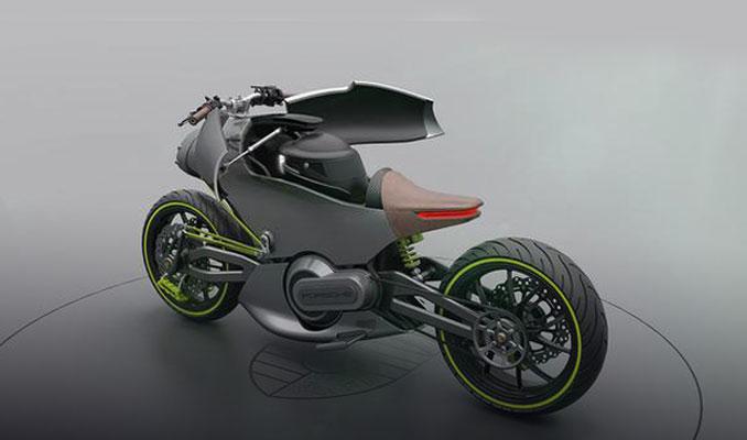 Sıra dışı bir elektrikli motosiklet
