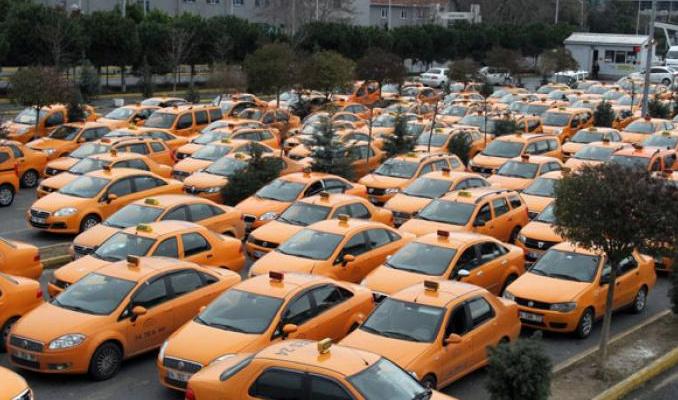 Taksici ÖTV nedeniyle mağdur oldu
