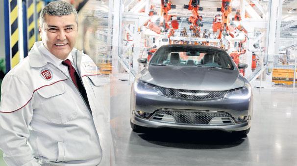 Chrysler fabrikasının başına bir Türk geçiyor