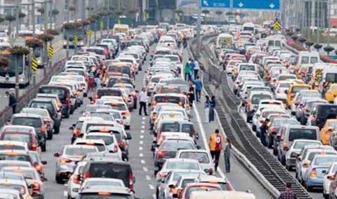 Trafiğe 272 bin araç eklendi