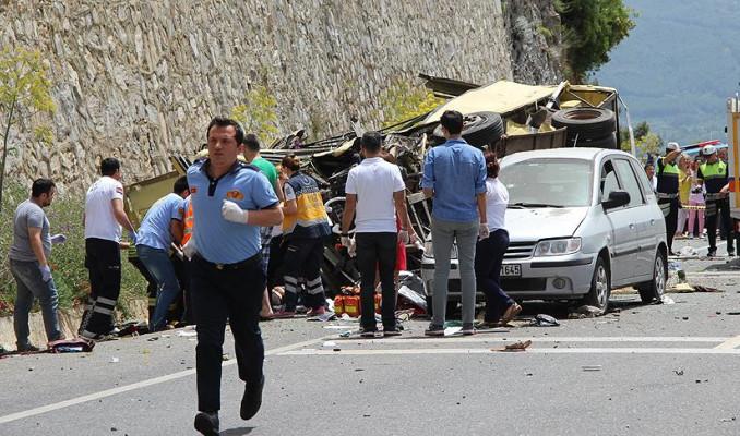 Kazaların yüzde 88'i sürücü kusurundan