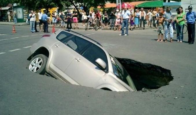 Trafikte şaşırtan anlar