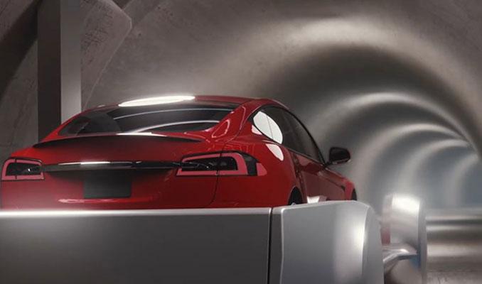 İşte yeraltı tünelinde gidecek olan otomobil!