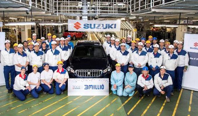 3 milyonuncu Suzuki, Estergon üretim hattından çıktı
