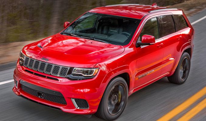 İşte Jeep'ten dünyanın en güçlü ve hızlı SUV'u!