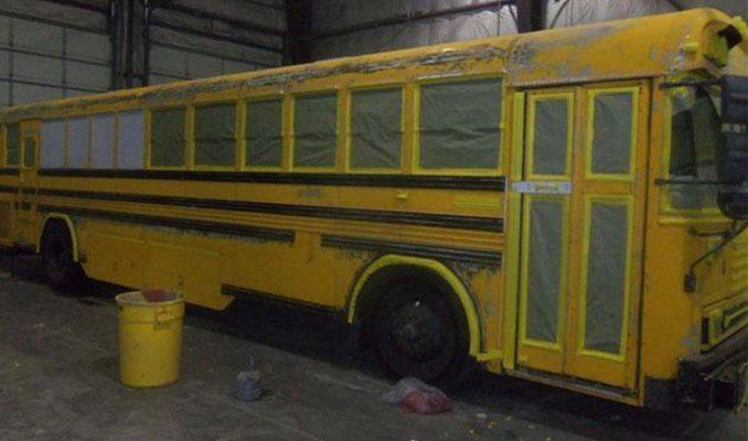 Hurda otobüsü bakın neye dönüştürdüler