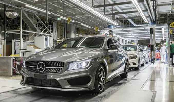 Mercedes'in dev ihalesi Türk şirketinin