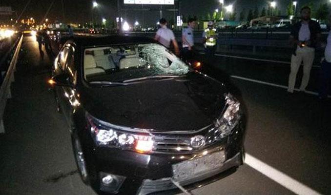 Avrasya Tüneli çıkışında feci kaza
