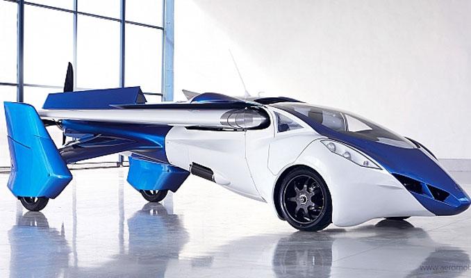 2020'de havada olacak uçan otomobile sipariş yağıyor
