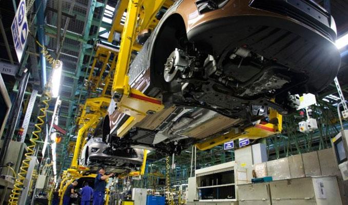 Otomotivde üretim ve ihracat arttı pazar daraldı