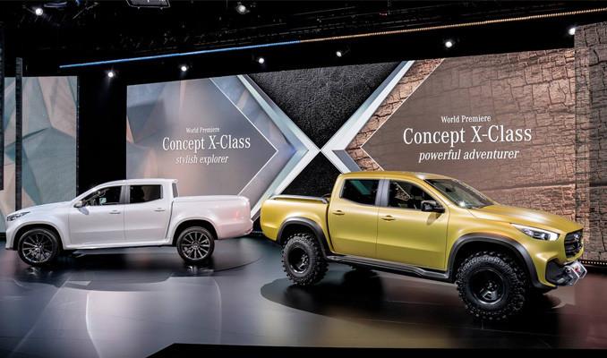 Mercedes, merakla beklenen Pick-up modelini tanıttı