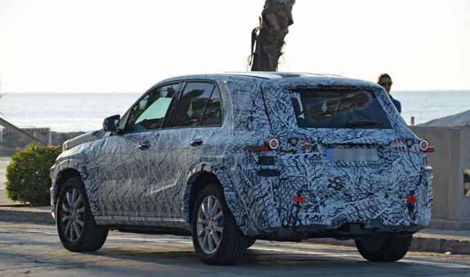 Mercedes-Benz GLE görüntülendi!