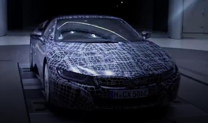 BMW'den i8 Roadster için resmi tanıtım