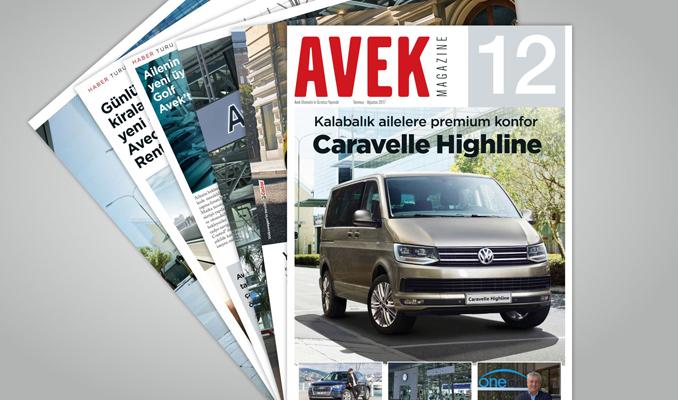 AVEK Magazine 2'nci yılını kutluyor