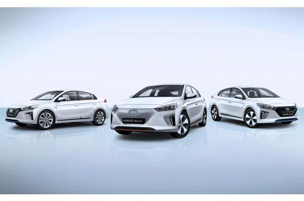 Hyundai Ioniq elektrikli otomobil sınıfına katılıyor
