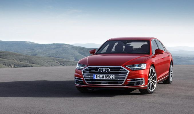 Bir yapay zeka ürünü: Audi A8
