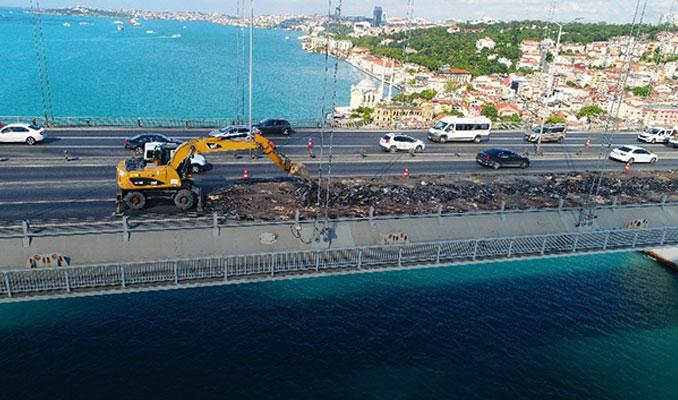 Köprüdeki çalışmanın biteceği tarih belli oldu
